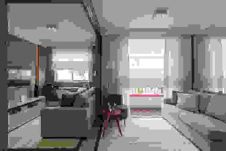 Ipiranga | Decorados Salas de estar modernas por SESSO & DALANEZI Moderno