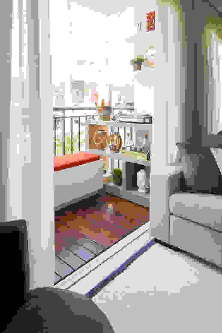 Ipiranga | Decorados Varandas, alpendres e terraços modernos por SESSO & DALANEZI Moderno