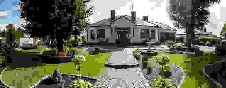 Casas de estilo clásico de Gzowska&Ossowska Pracownie Architektury Wnętrz Clásico