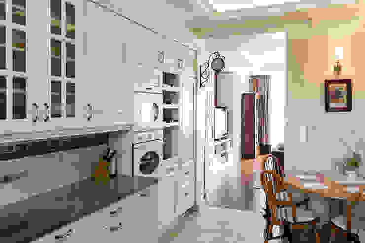 Dom w Bielicach: styl , w kategorii Kuchnia zaprojektowany przez Gzowska&Ossowska Pracownie Architektury Wnętrz,Klasyczny