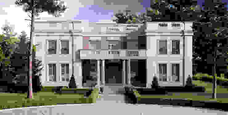 Casas de estilo  de Elena Arsentyeva, Clásico Caliza
