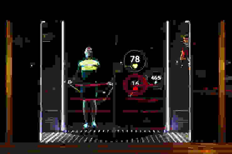 Ralph Lauren Holographic Window Display by Cinimod Studio Сучасний Алюміній / цинк