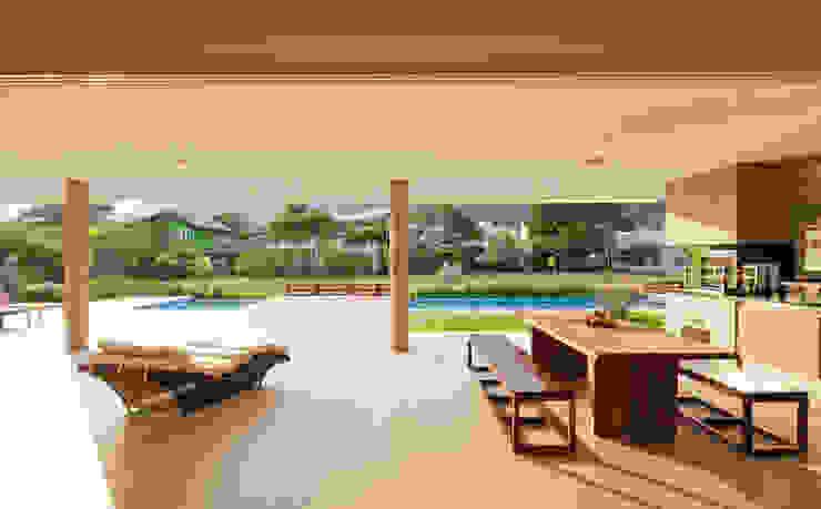 Conrado Ceravolo Arquitetos Modern Terrace