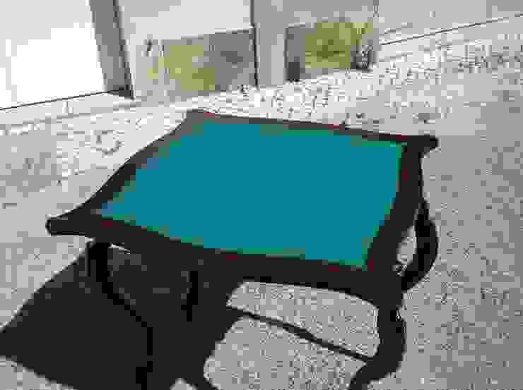 Mesa de Jogo recuperada por Paulo Broughton