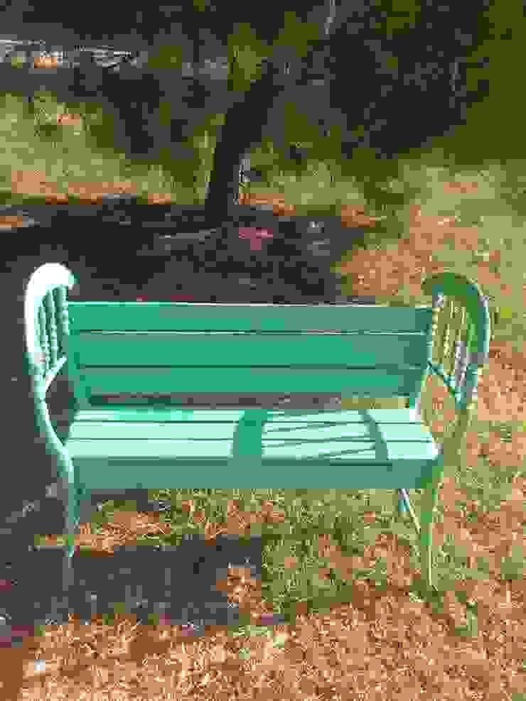 Cadeira de jardim - restaurada por Paulo Broughton