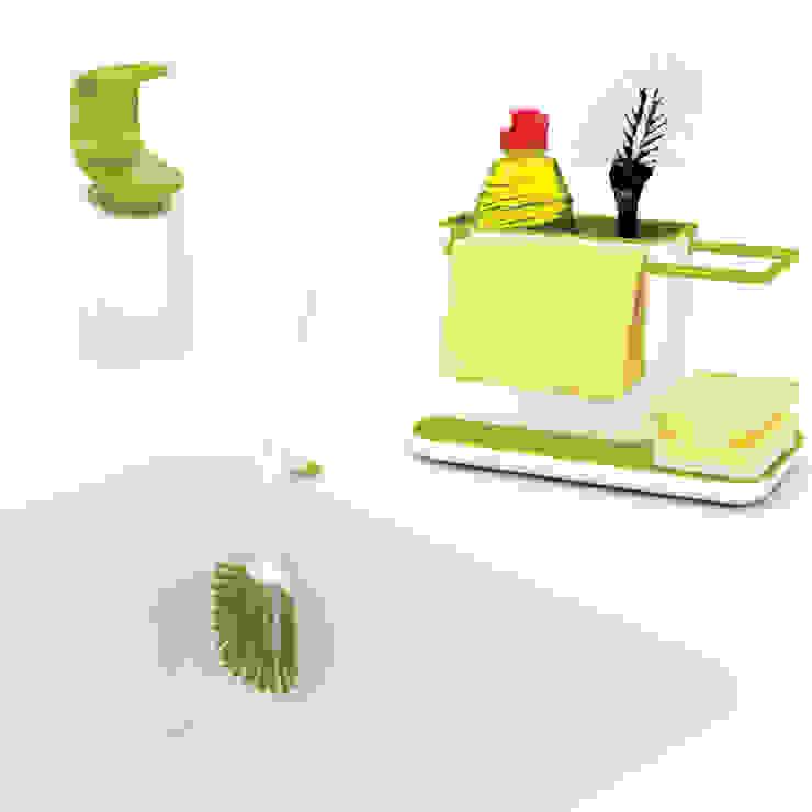 Набор для мытья посуды 3-piece (органайзер, диспенсер, щетка):  в современный. Автор – Enjoyme, Модерн Пластик