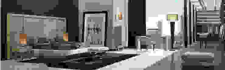 Quartos modernos por Passerini Interior Design Consulting Moderno