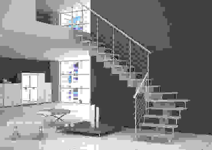 BLOG Ingresso, Corridoio & Scale in stile minimalista di Grana Scale Minimalista