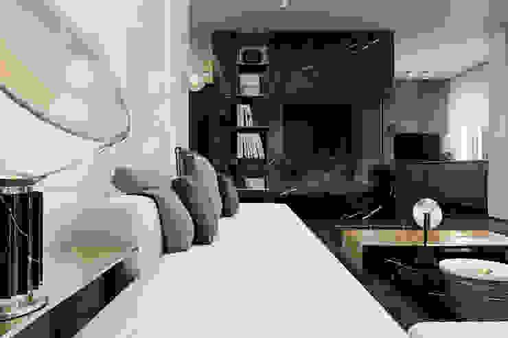 Salas de estar minimalistas por Виталий Юров Minimalista