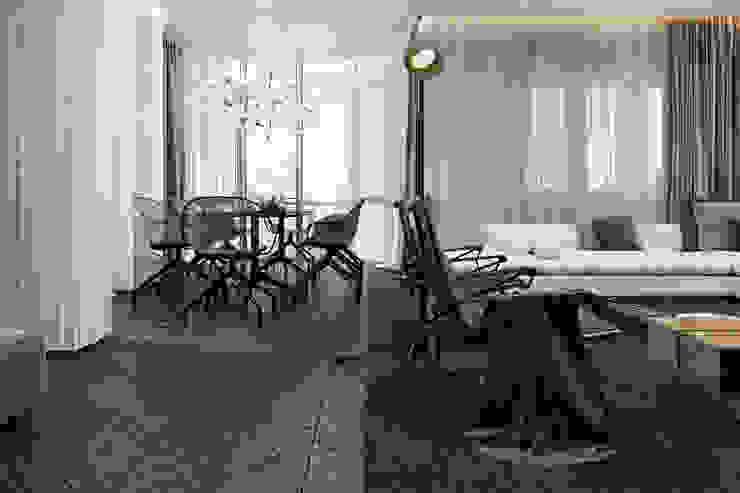 Phòng khách phong cách tối giản bởi Виталий Юров Tối giản