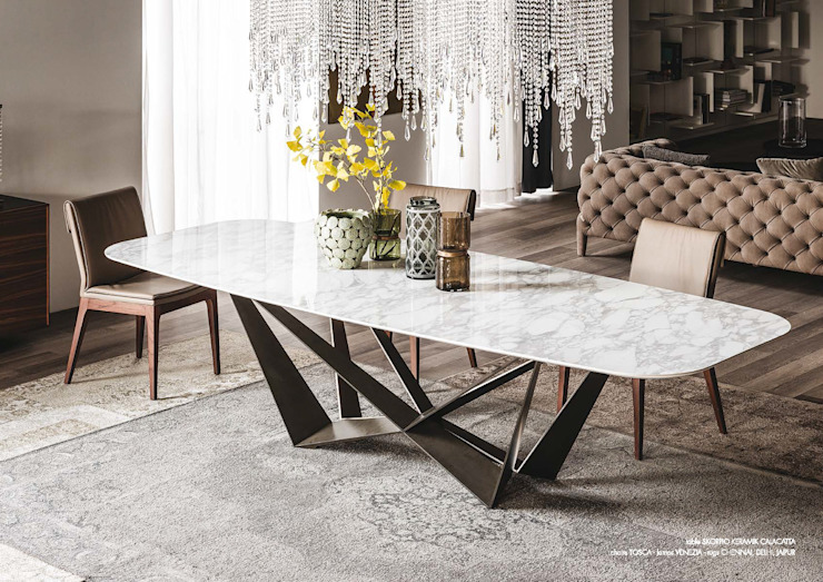 Versat Dining roomTables Ceramic White