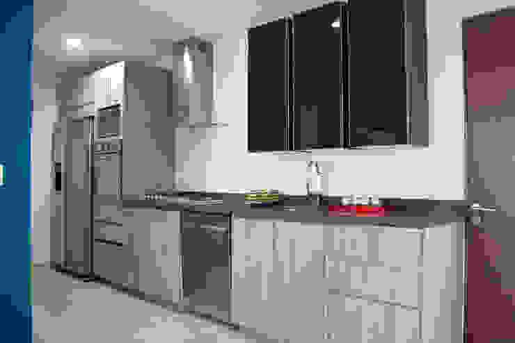 Cocina Cocinas minimalistas de Avianda Kitchen Design Minimalista Derivados de madera Transparente