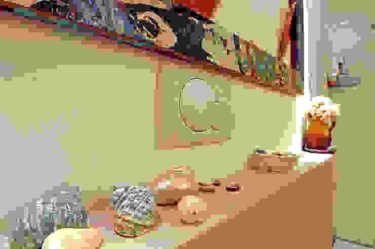 Ванные комнаты в . Автор – Ossigeno Architettura, Средиземноморский