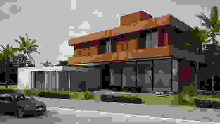 Casa MB Casas modernas por Arq. Leonardo Silva Moderno