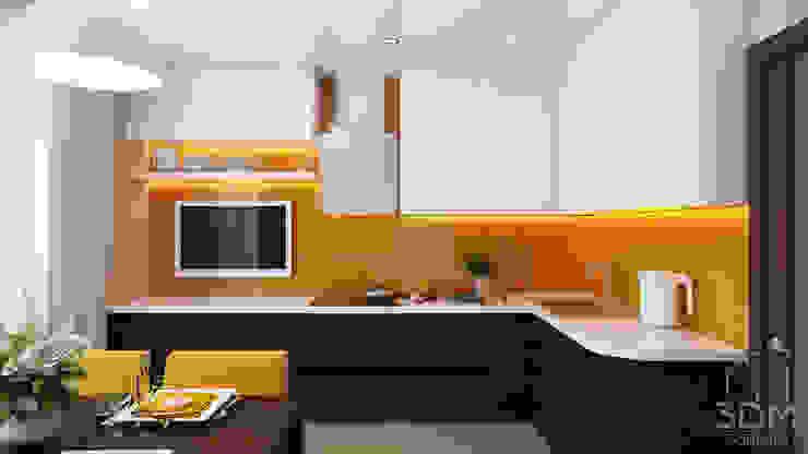 студия визуализации и дизайна интерьера '3dm2' Kitchen