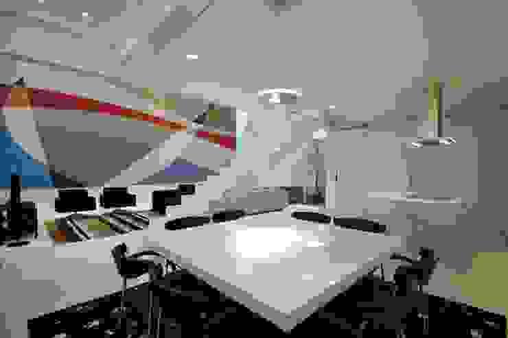 PROJETO DE RESIDÊNCIA NO BROOKLIN Salas de jantar modernas por Zanettini Arquitetura Planejamento e Consultoria Ltda Moderno