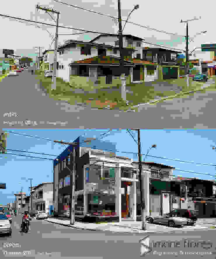 Antes e Depois:  tropical por Simone Flores Arquitetos & Associados,Tropical