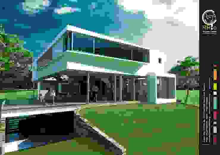 Fachada de Rr+a bureau de arquitectos - La Plata Moderno