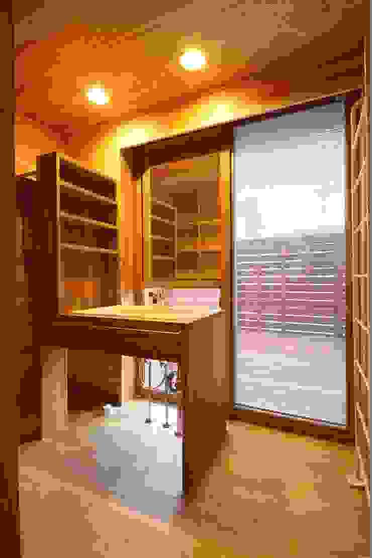 陽ごこちの家 群馬県 高崎市 オリジナルスタイルの お風呂 の 田村建築設計工房 オリジナル