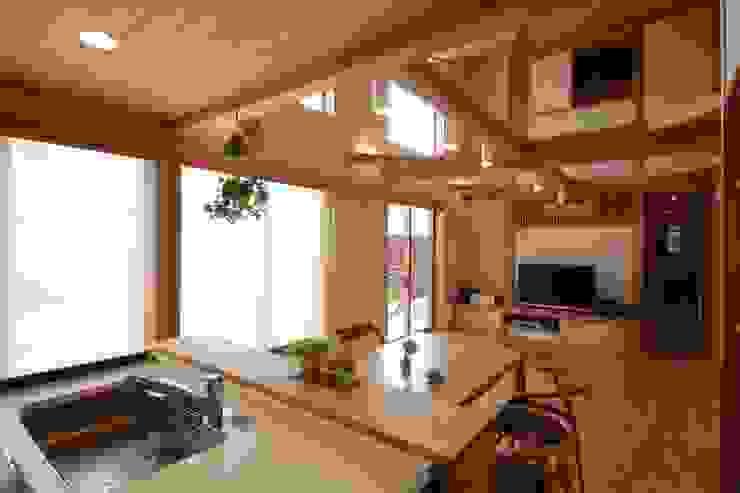 陽ごこちの家 群馬県 高崎市 オリジナルデザインの ダイニング の 田村建築設計工房 オリジナル