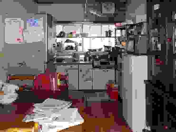 Before キッチン: アンドウ設計事務所が手掛けた現代のです。,モダン
