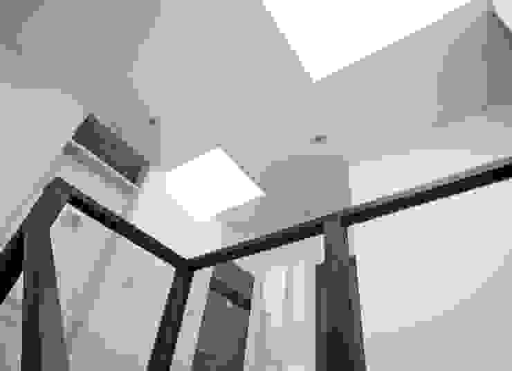 トップライト モダンスタイルの 玄関&廊下&階段 の フィールド建築設計舎 モダン