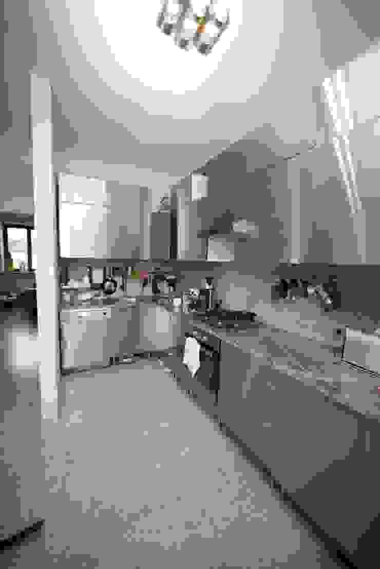 Przebudowa Domu Nowoczesna kuchnia od pracownia architektoniczno-konserwatorska festgrupa Nowoczesny