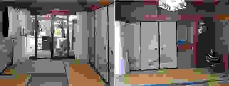 Before 和室の2間続きの2室: アンドウ設計事務所が手掛けた現代のです。,モダン