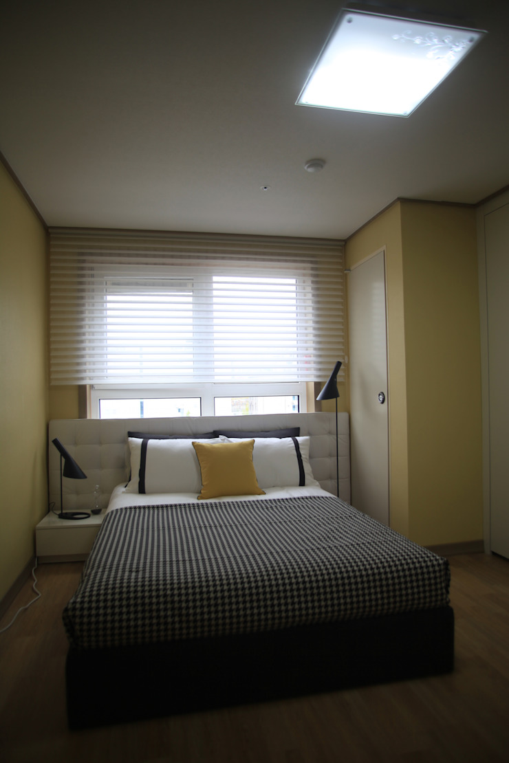 two room 모던스타일 침실 by design seoha 모던