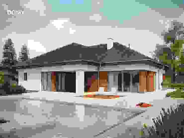 Moderne huizen van Słoneczne Domy Pracownia Architektury Modern