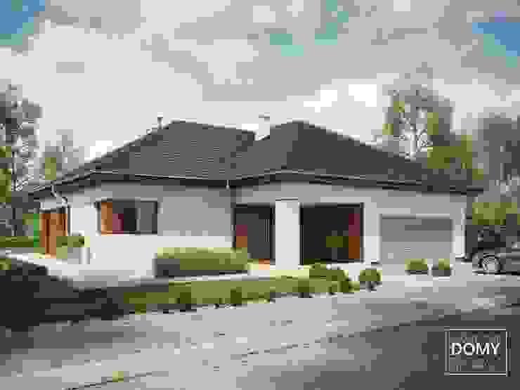 現代房屋設計點子、靈感 & 圖片 根據 Słoneczne Domy Pracownia Architektury 現代風