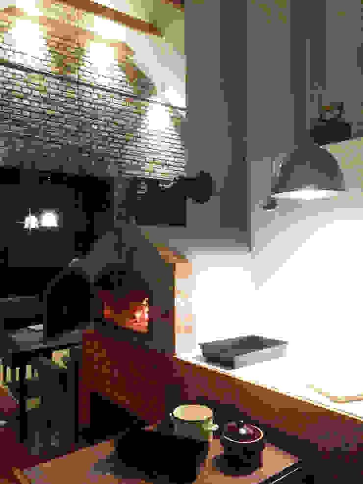 Dom Nowoczesna kuchnia od modern studio architektury maciej rempalski Nowoczesny