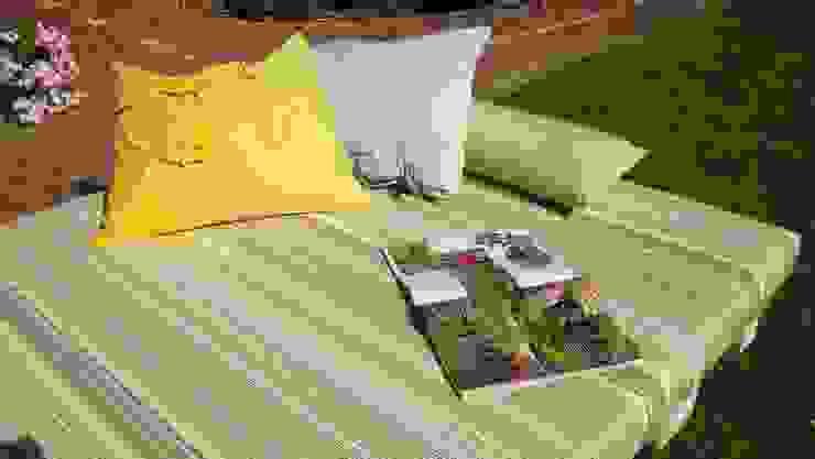 ausklappbare Gartenliege aus Paletten von WOHNIDEEN Lebedies ...
