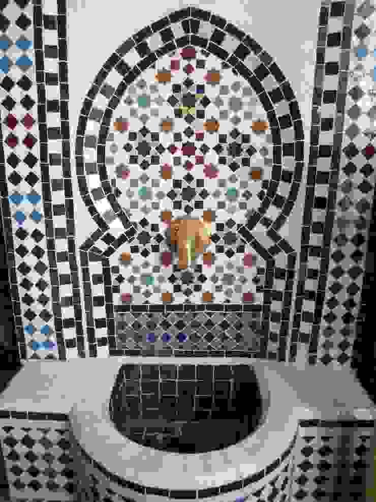 Mozaiekfontein van El Kantra Mediterraan