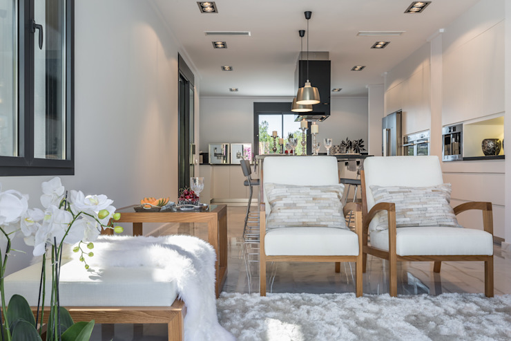 Rincón acogedor en la cocina Cocinas de estilo mediterráneo de Laura Yerpes Estudio de Interiorismo Mediterráneo