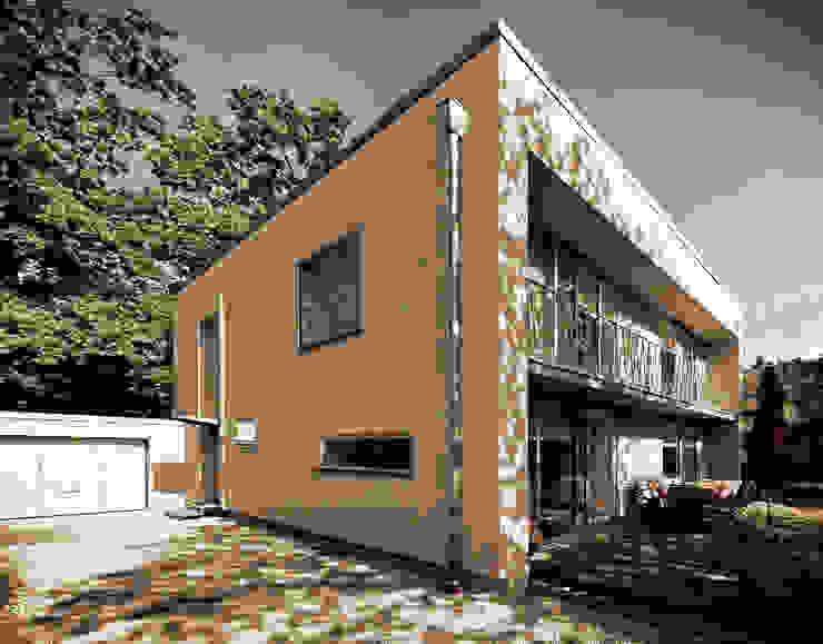 現代房屋設計點子、靈感 & 圖片 根據 Fürst & Niedermaier, Architekten 現代風