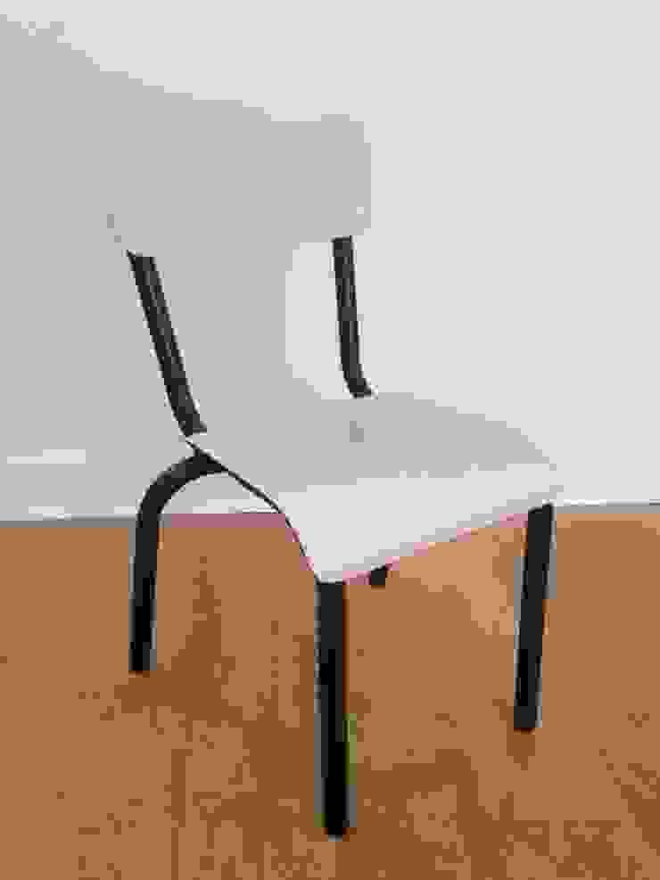 Chaise d'écolier rose argile Collector Chic BureauTabourets