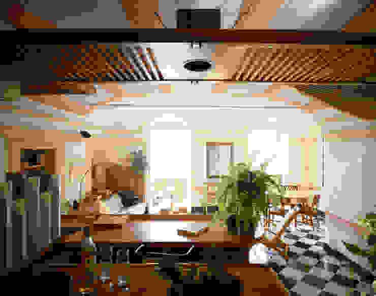 Salas de estilo moderno de VITTORIO GARATTI ARCHITETTO Moderno