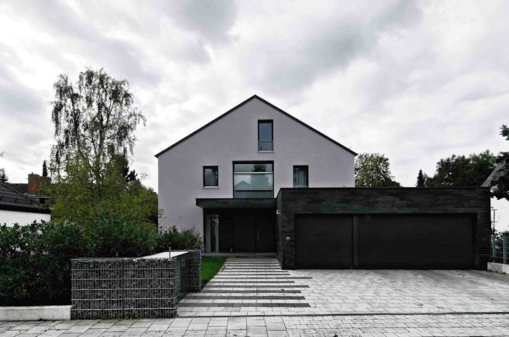 Fürst & Niedermaier, Architekten Rumah Modern Batu