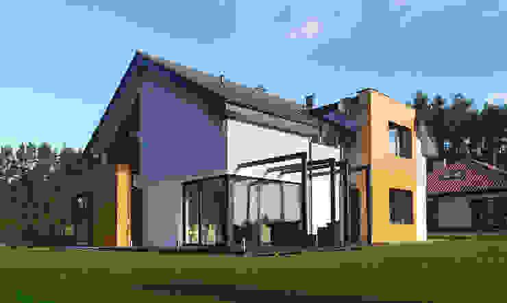 Pracownia Projektowa Wioleta Stanisławska Casas modernas