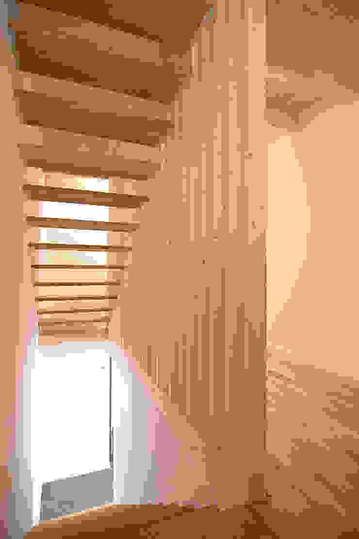Fürst & Niedermaier, Architekten Modern corridor, hallway & stairs Wood