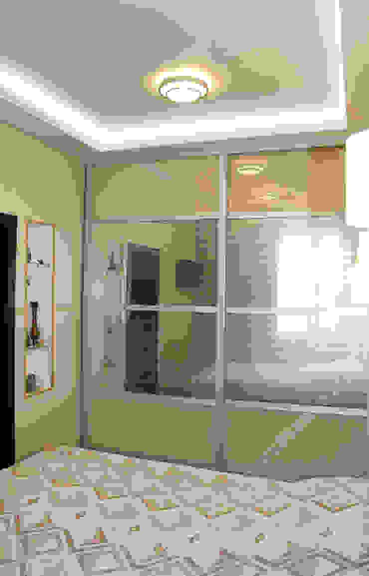 Спальня родителей, вид на гардеробную комнату. Спальня в эклектичном стиле от INTERIOR PROJECT studio Эклектичный