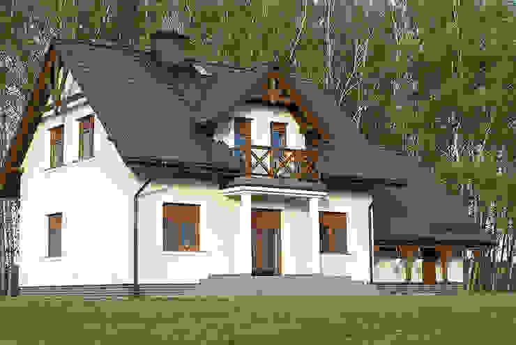 Дома в классическом стиле от Biuro Projektów MTM Styl - domywstylu.pl Классический
