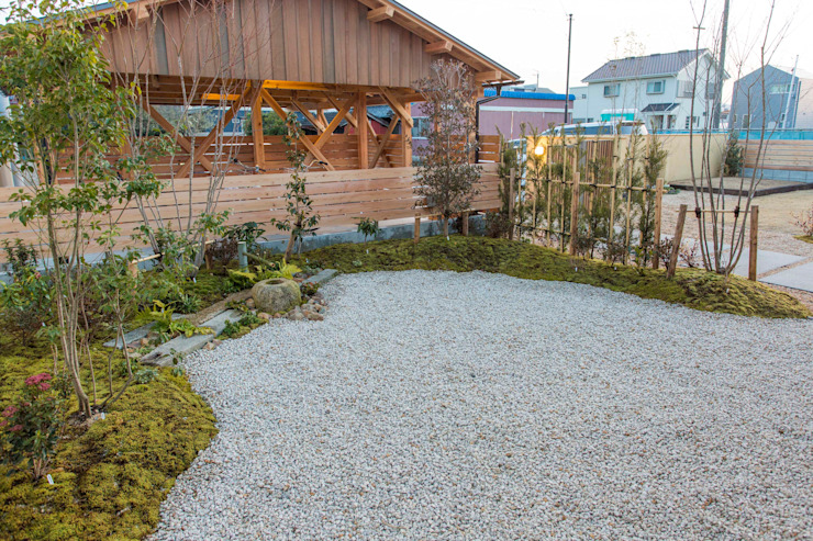 shu建築設計事務所 Classic style garden
