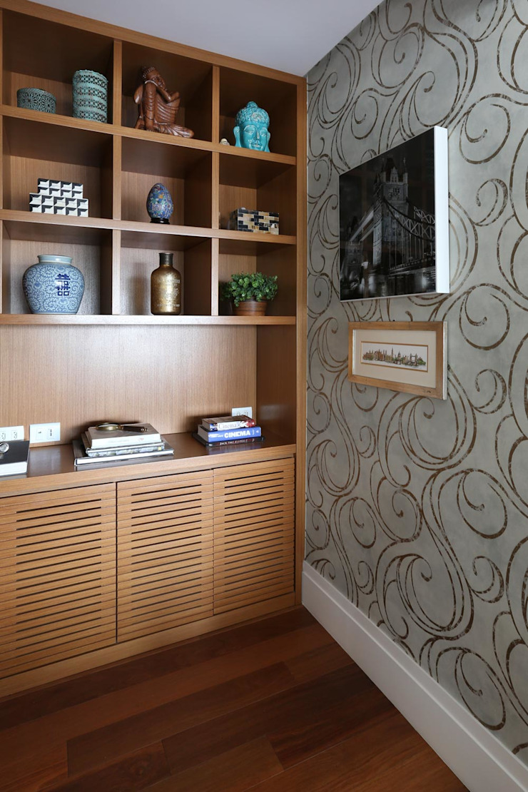 Modern Study Room and Home Office by Danielle Tassi Arquitetura e Interiores Modern