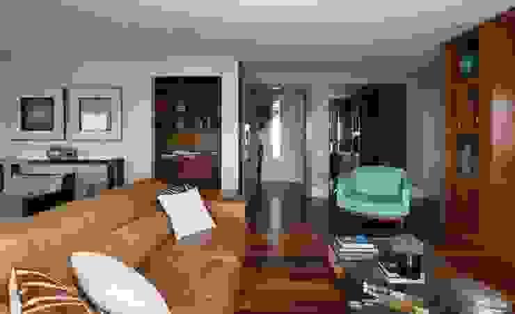 Modern Living Room by Danielle Tassi Arquitetura e Interiores Modern