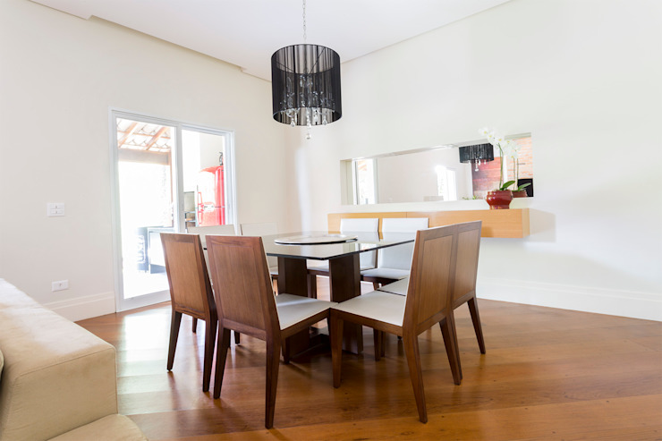 Modern dining room by Danielle Tassi Arquitetura e Interiores Modern