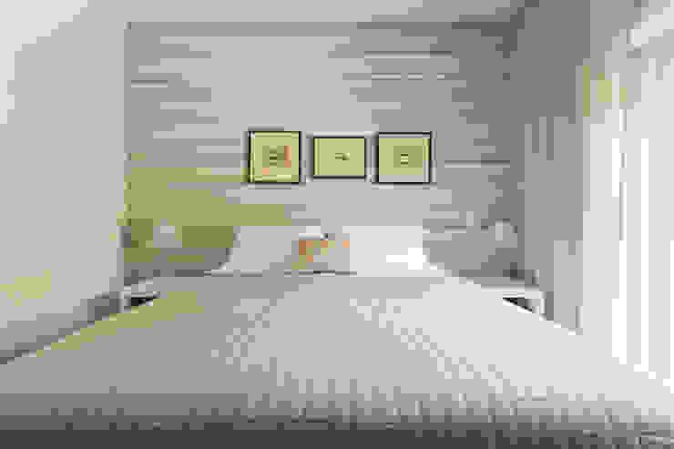 Casa Residencial SP Quartos modernos por Danielle Tassi Arquitetura e Interiores Moderno