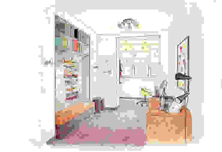 Эскиз детской комнаты. Ручная графика. от INTERIOR PROJECT studio Эклектичный