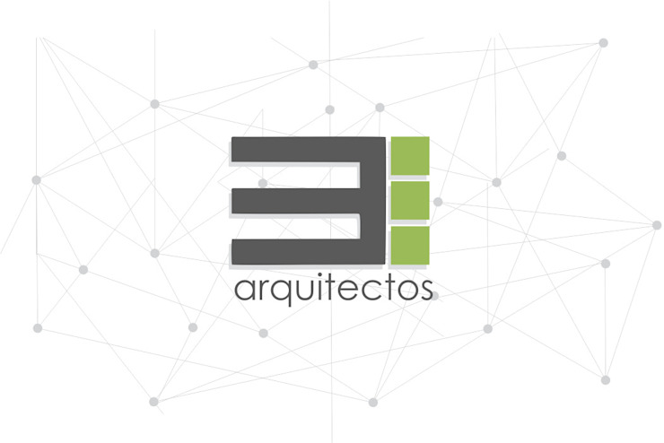 logotipo Estudios y despachos modernos de TRES arquitectos Moderno